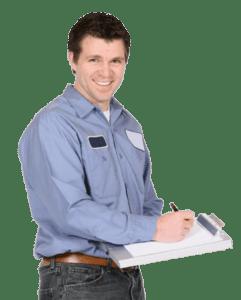 Locksmith serviceman