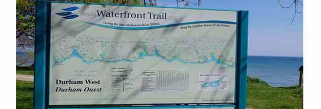 Ajax-Waterfront-Trail-Sign