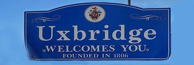 Uxbridge Street Sign